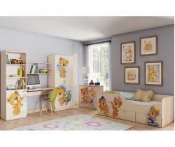 """Детская мебель """"Мишки"""" модульная"""