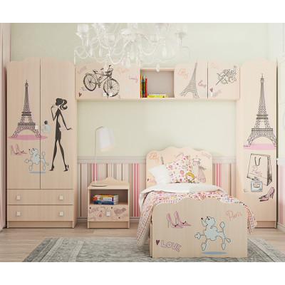 """Детская мебель """"Париж"""" модульная"""