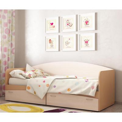 """Кровать """"КР-1"""" с ящиками"""