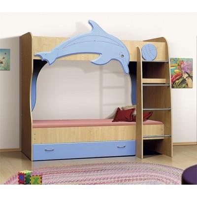 """Кровать двухъярусная Дельфин """"Vitamin A"""""""