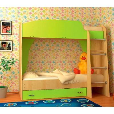 "Кровать двухъярусная цветная ""Vitamin A"""