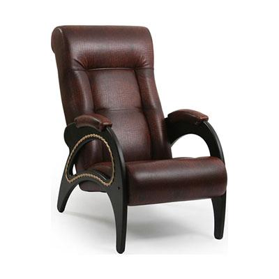 """Кресло """"Модель 41"""" с декором из лозы"""