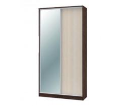 """Шкаф-купе """"Техно"""" 1.2 (гл. 450 мм) 1 зеркало"""