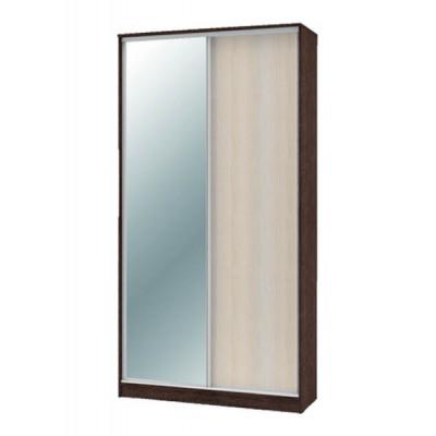 """Шкаф-купе """"Техно"""" 1.2 (гл. 600 мм) 1 зеркало"""