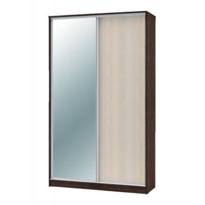 """Шкаф-купе """"Техно"""" 1.4 (гл. 600 мм) 1 зеркало"""