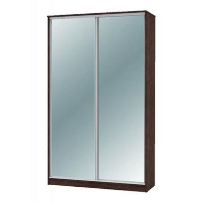 """Шкаф-купе """"Техно"""" 1.4 (гл. 600 мм) 2 зеркала"""