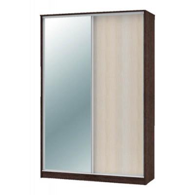 """Шкаф-купе """"Техно"""" 1.6 (гл. 450 мм) 1 зеркало"""