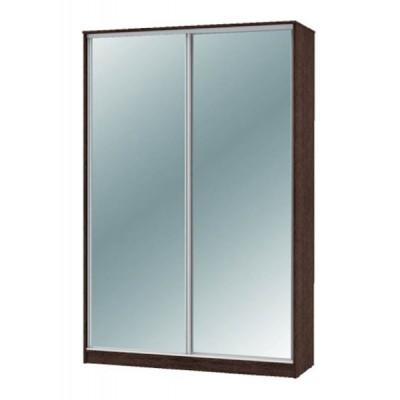 """Шкаф-купе """"Техно"""" 1.6 (гл. 600 мм) 2 зеркала"""