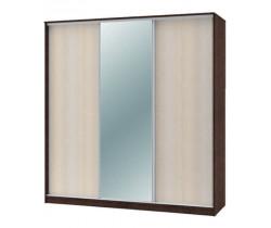 """Шкаф-купе """"Техно"""" 2.1 (гл. 450 мм) 1 зеркало"""