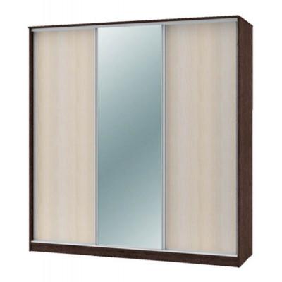 """Шкаф-купе """"Техно"""" 2.1 (гл. 600 мм) 1 зеркало"""